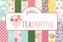 Tealightful | Pebbles Inc. / Beautiful and sweet springtime collection from Pebbles Inc. Released 2017.