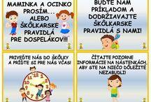 pravidla pre rodičou