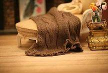 Montheron Dollshouse Miniature Plaids