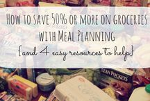 {Meal Planning on a budget} / Are you looking to learn how to #mealplan on a #budget?  Here are my favorite tips on how to save in the grocery store and meal plan with or without #coupons. / by Lauren {I am THAT Lady}