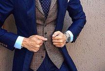 suit, waistcoat, tie