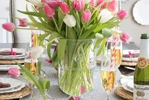 Easter/spring decor