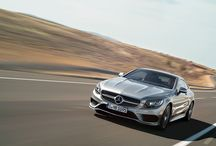 New S Class Coupé / Classic proportions of a large sporty coupé coupled with high tech and modern luxury.