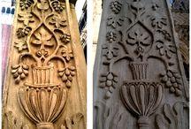 """Pomul Vieții la Veneția / Această reprezentare a Pomului Vieţii, care, plastic, constă dintr-o succesiune de coarde de viţă de vie care se ramifică la intervale mai mult sau mai puţin regulate (pe care francezii au denumit-o sec rinceau), este mai mult decât un """"frunziş"""". Ea reprezintă expresia vegetală a nemuririi."""
