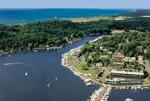 Saugatuck, MI / We love Saugatuck and are proud to call it home. Check out this amazing town on the river that won #1 Best Weekend Getaway from USA Today!