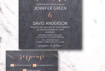 Copper wedding ideas