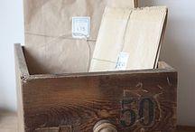Jolies boîtes, tiroirs et Cie
