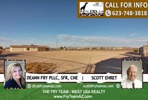 """SOLD! Spacious Corner Lot Buckeye Home / SOLD!   If you are looking for properties to sell, buy or to rent, let """"The Fry Team"""" make it simple for you. CALL 623-748-3818 or visit www.FryTeamAZ.com for more info."""