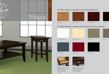 TRIBECA / Inspired by the eclectic mix of styles and cultures in its namesake New York neighborhood, Tribeca blurs the line between casual and refined.