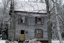Exteriors / Houses, abandoned houses, old houses