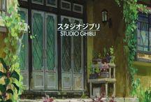 Beautiful Place Studio Ghibli