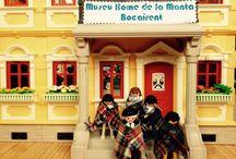 Playmobil / Dentro del espacio museístico del Museu Home de la Manta, tenemos un apartado dedicado a los peques de los clicks de playmobil recreando la fabricación de mantas.