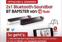 Rakuten Instagram / Erlebe Shopping is Entertainment mit Rakuten Deutschland auf Instagram.
