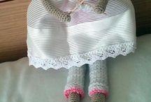 háčkované panenky Tilda lalylala