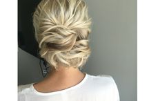 Wedding Hair / Up or down? Straight or Curly!?