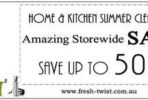 FRESH-TWIST / Graphic design for online shop www.fresh-twist.com.au 2012-2014