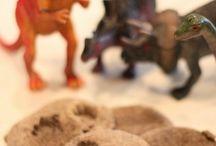 Dinosaur dig party