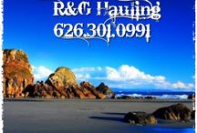 """Arcadia Junk Removal / R&G Hauling~""""Rob & Ginger"""" Serving SoCal since 1993. Give us a call @ 626.497.8271 junk,trash.waste.debris,recycle service"""