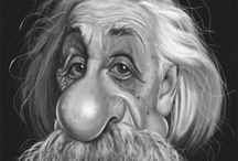 Caricaturas-Einstein