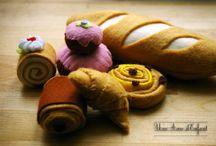 Felt  / Felt play food, toys, and crafts. / by Muttix Onlymuttix