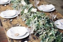 Table settings / Center piece