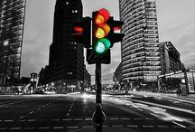 Traffic Lights         / Green-Yellow-Red