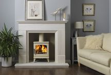 Coloured stoves / Stoves other than the standard grey or black colour. These stoves are sprayed different colours, have optional extras or enameled to suit your decor.