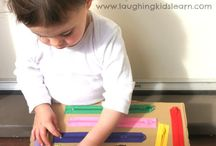learning by playing / We've created this board to share with you our favorite inspirations to play with your child.