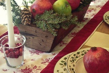 Tavole Natalizie - Christmas table setting
