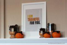 Fall/Thanksgiving / by Kate Guevara