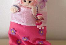 fru fru dolls / bambole di pezza
