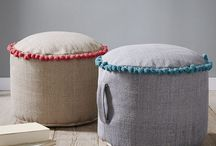 #Poufs #Footstools # Benches #Floor Cushions
