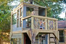 Tree House Ideas For The Boys