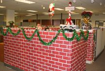 Cubicle decor / by Lori Woolever