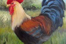 dieren schilderij