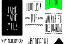 fonts inspiration