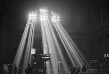 January 1943: Union Station light / Beautiful illumination from wartime necessity