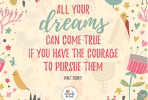 Motivational Quotes / A collection of motivational and inspiring quotes to help you get through any day. Think of these as a way for us to tell you that hey, we got your back!