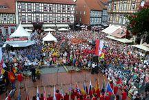 Eröffnung des 8. Internationalen Johannes-Brahms-Chorfestivals / Am 18. Juli 2013 wurde das 8. Internationale JOhannes-Brahms-Chorfestival auf dem Wernigeröder Marktplatz feierlich eröffnet.