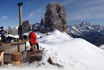 Food and Rifugios in the Dolomites