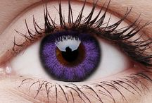 Cool lenses / Brave and bold-- this is what this pair of Violet contact lenses is all about.