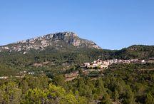 Colldejou / Colldejou es troba al sector muntanyós del Baix Camp, al límit amb el Priorat, entre les moles de Llaberia i de Colldejou. La mola és punt de referència excursionista i hi ha restes d'un fortí de les guerres Carlines.