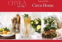 Chyka inspired by Circa Home / At Circa Home, we know our fragrances are as much about inspiration as they are about relaxation. So to inspire and relax you, we teamed up with Chyka to create three delicious recipes for Christmas, so you don't have to.