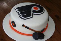 Flyers Hockey Birthday Party / Ideas for a Philadelphia Flyers themed birthday party