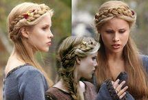 hairstyles (modern/medieval polish maiden)