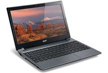"Acer C7 C710-2847 Chromebook 11.6"" Intel Dual Core B847 1.1 GHz 2GB DDR3 320GB 5400RPM HDD Wifi HDMI USB3.0 VGA Card Reader"