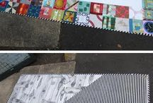 Quilt Guild Banner / Inspiration for the Montreal MQG banner / by Josée Carrier