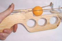 Gun ping pong