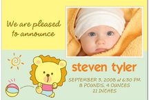 Invitations/Birth Announcements