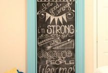 chalkboard obsession / by Erin Noice